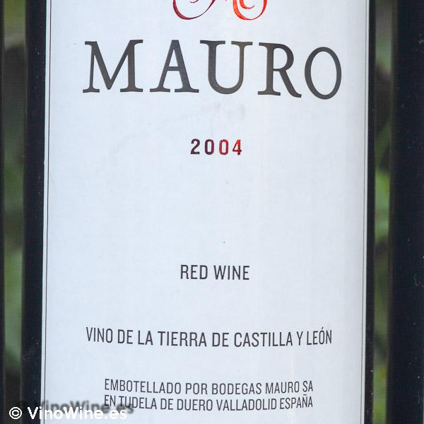Cata Vertical del vino Mauro, cosecha 2004