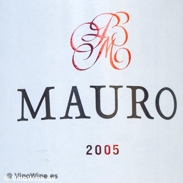 Cata Vertical del vino Mauro, cosecha 2005