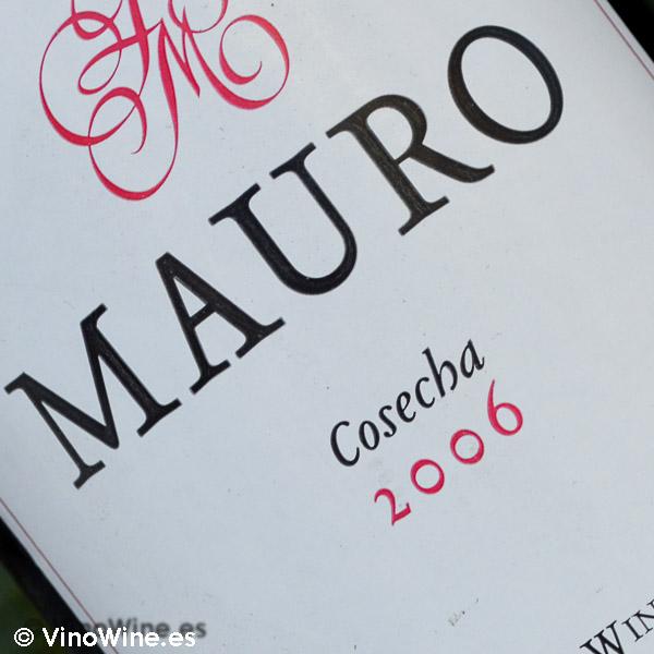 Cata Vertical del vino Mauro, cosecha 2006