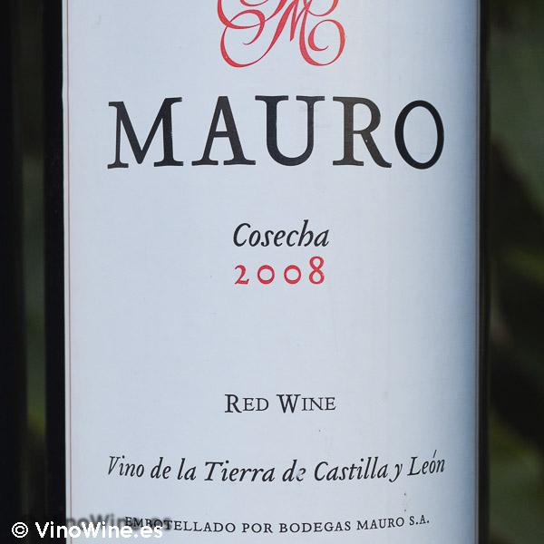 Cata Vertical del vino Mauro, cosecha 2008