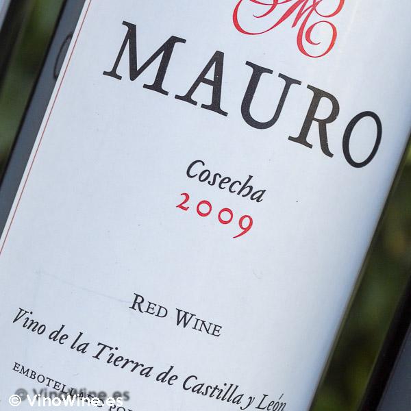Cata Vertical del vino Mauro, cosecha 2009