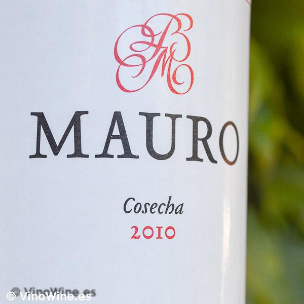 Cata Vertical del vino Mauro, cosecha 2010