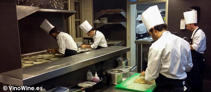 En la cocina de El Celler de Can Roca