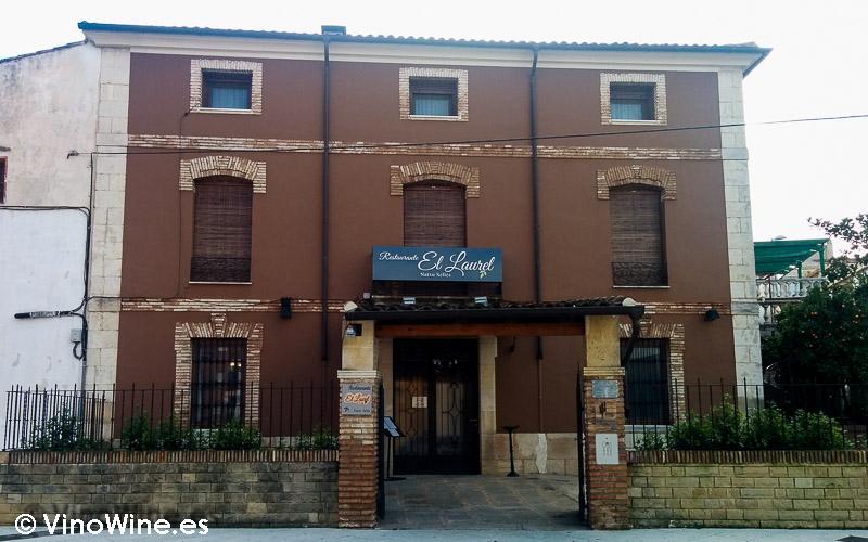 Fachada del Restaurante El Laurel de Cocentaina