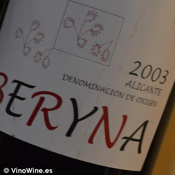 Beryna 2003 Cata Vertical de Beryna del 2003 al 2010
