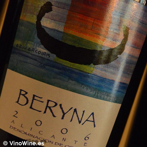 Beryna 2006 Cata Vertical de Beryna del 2003 al 2010