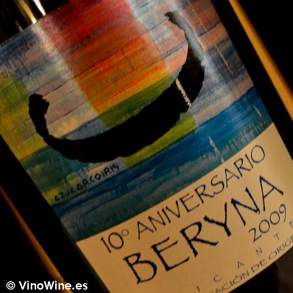 Beryna 2009 Cata Vertical de Beryna del 2003 al 2010