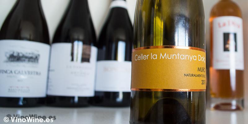 Celler la Muntanya dolc natural 2011, uno de los 10 vinos valencianos seleccionados por Jose Ruiz