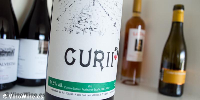 Curii tinto 2013, uno de los 10 vinos valencianos seleccionados por Jose Ruiz