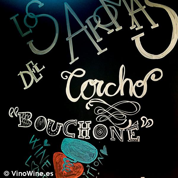 Cartel anunciador del taller los aromas del corcho en la I Mendozas Wine Lovers Edition by Bodegas Mendoza