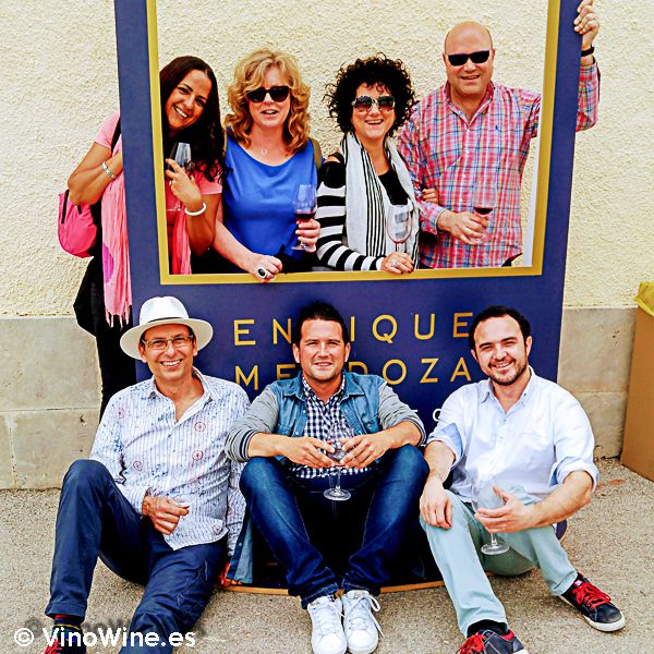 Photocall de la I Mendozas Wine Lovers Edition by Bodegas Mendoza