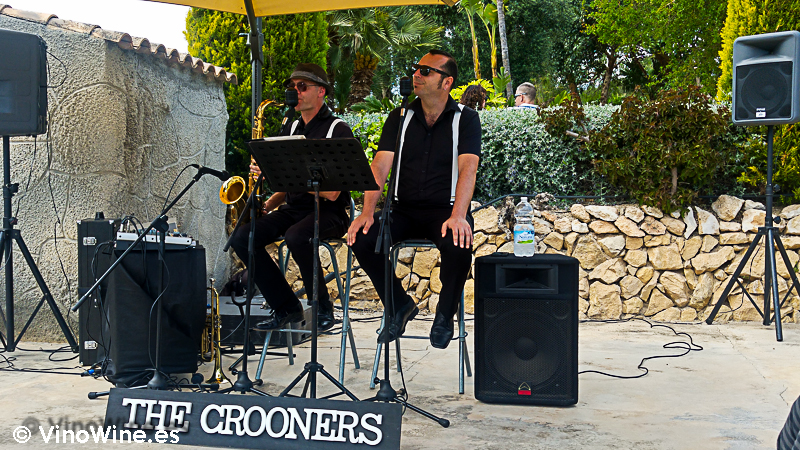 The Crooners, duo que amenizó la I Mendozas Wine Lovers Edition by Bodegas Mendoza
