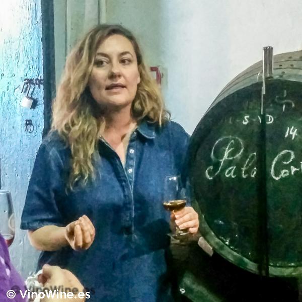 Rocio Ruiz de Bodegas Urium de Jerez