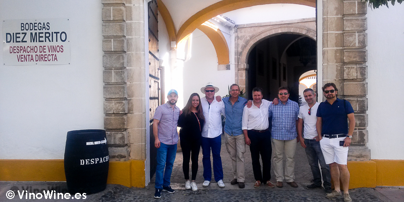 Visita a Bodegas Diez Merito de Jerez en el Tour Bojos Pel Vi Marco de Jerez