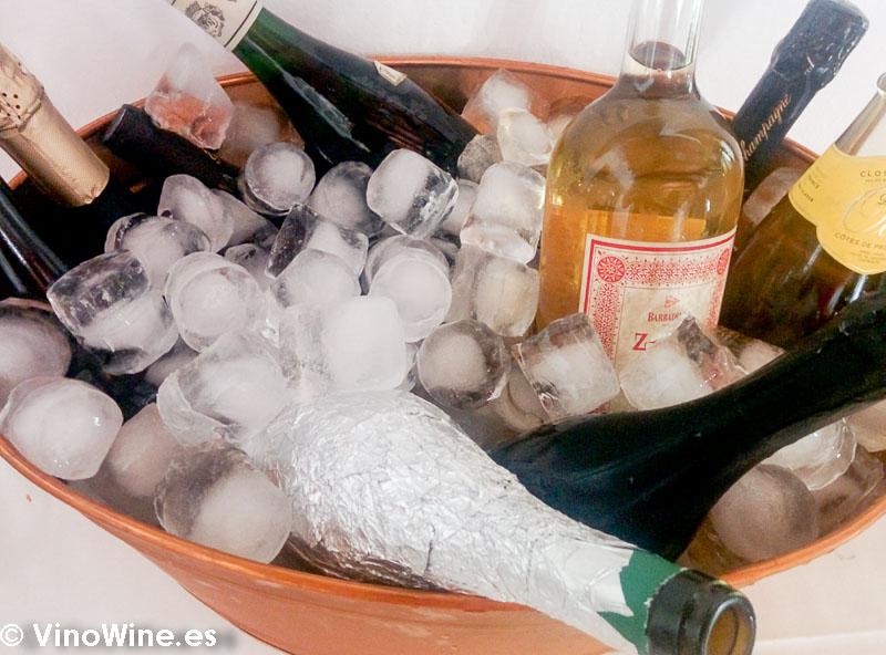 Algunos de los Vinos de sobaquillo disfrutados en la comida del Restaurante Las Camachas en el Encuentro Verema Montilla Moriles