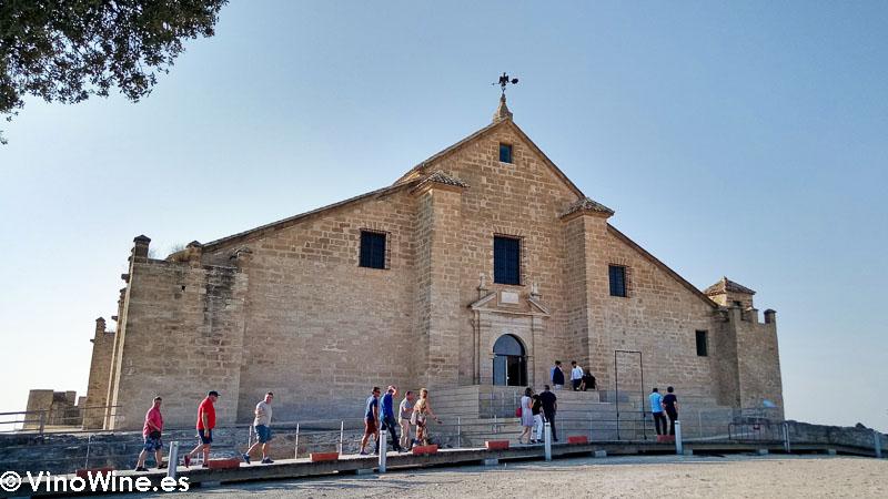 Castillo de Montilla primera recepción del Encuentro Verema Montilla Moriles