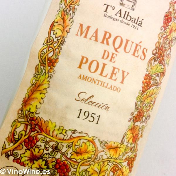 Marques de Poley 1951 un amontillado espectacular de crianza estatica catado en el showroom del Encuentro Verema Montilla Moriles