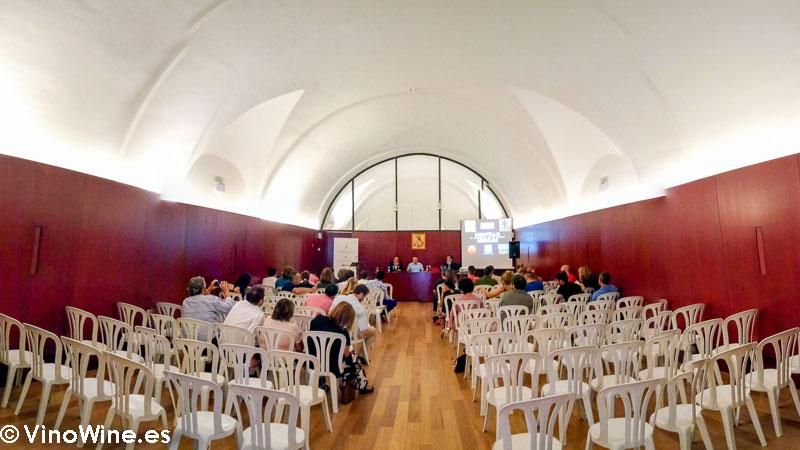 Sala en la que se celebro la charla en el Encuentro Verema Montilla Moriles