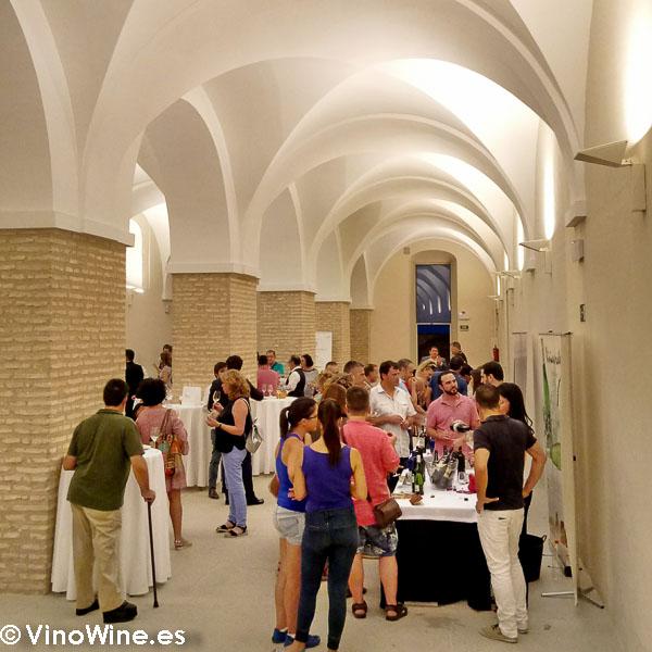 Showroom del viernes en el Castillo de Montilla en el transcurso del Encuentro Verema Montilla Moriles