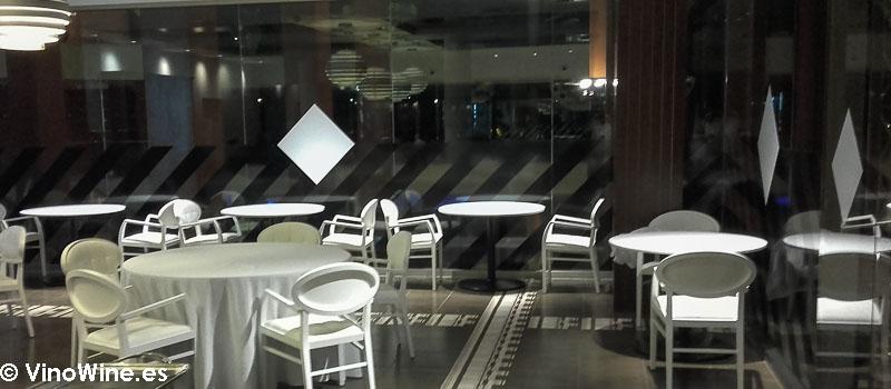 Vista parcial de la sala del Restaurante Audreys en Calpe