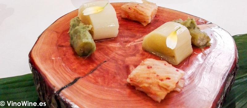 Encurtidos y fermentados del Restaurante La Candela de Madrid