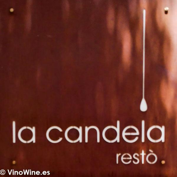 Logotipo del Restaurante La Candela de Madrid