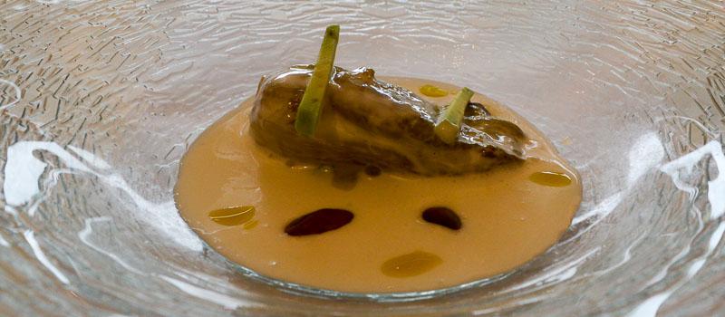 Cogollo a la crema de Casa Gerardo en Asturias