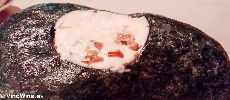 Mantequilla de boletus del Restaurante La Salgar de Nacho Manzano en Gijon