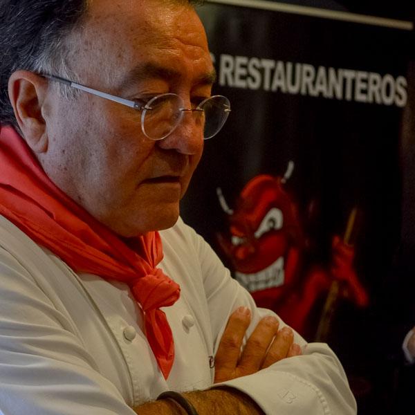 Pedro Moran de Casa Gerardo en Asturias Restaurantero de Honor