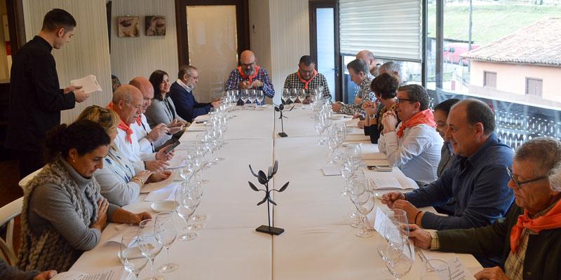 Restauranteros en Casa Gerardo de Asturias