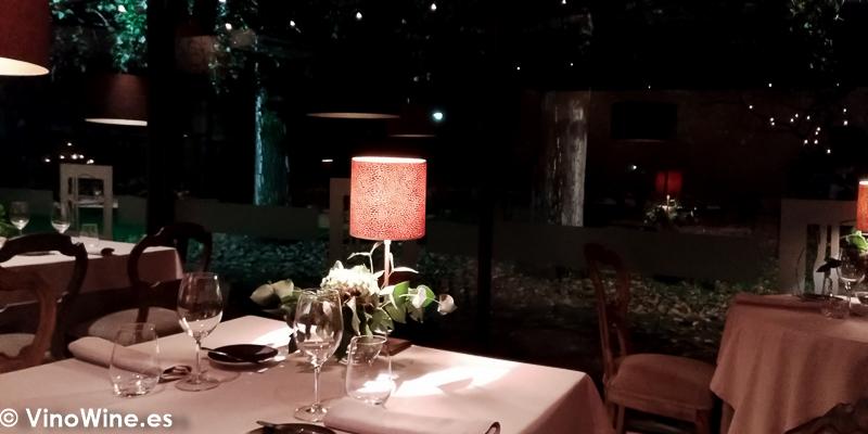 Vista parcial de la sala de Restaurante La Salgar de Nacho Manzano en Gijon