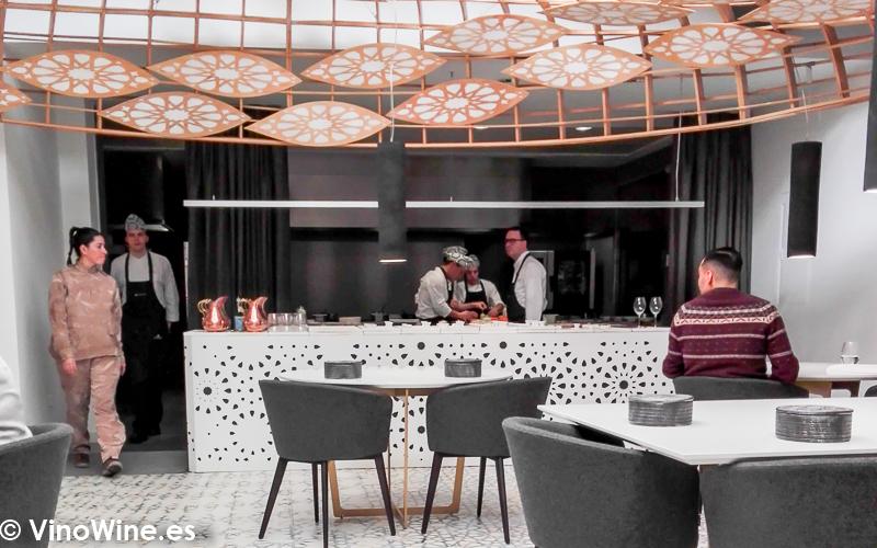 Vista parcial del Restaurante Noor de Paco Morales en Córdoba