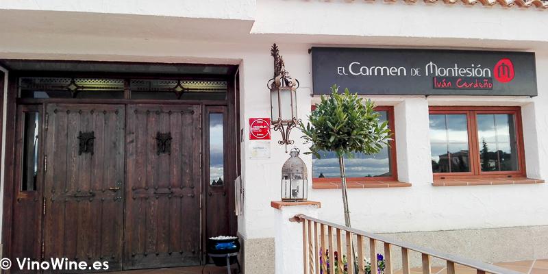 Fachada del Restaurante El Carmen de Montesión en Toledo
