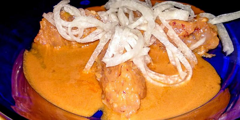 Tartar de carabineros del Restaurante Arallo Taberna de Madrid
