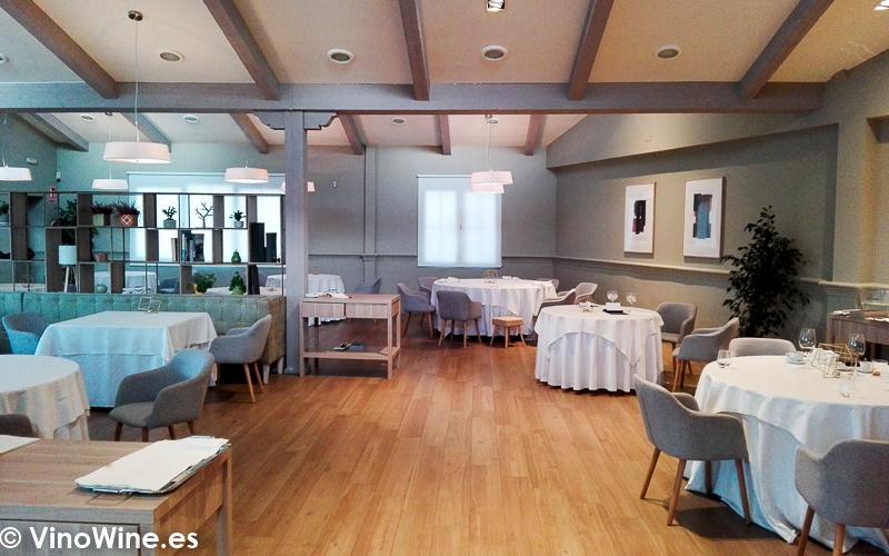 Vista parcial de la sala del Restaurante El Carmen de Montesión en Toledo