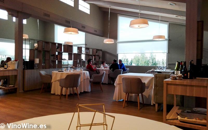Vista parcial del comedor del Restaurante El Carmen de Montesión en Toledo