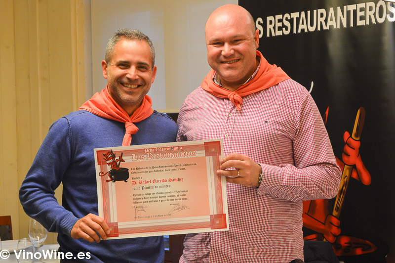 Rafa Garrido y Jose Ruiz de la Peña Los Restauranteros en Donosti