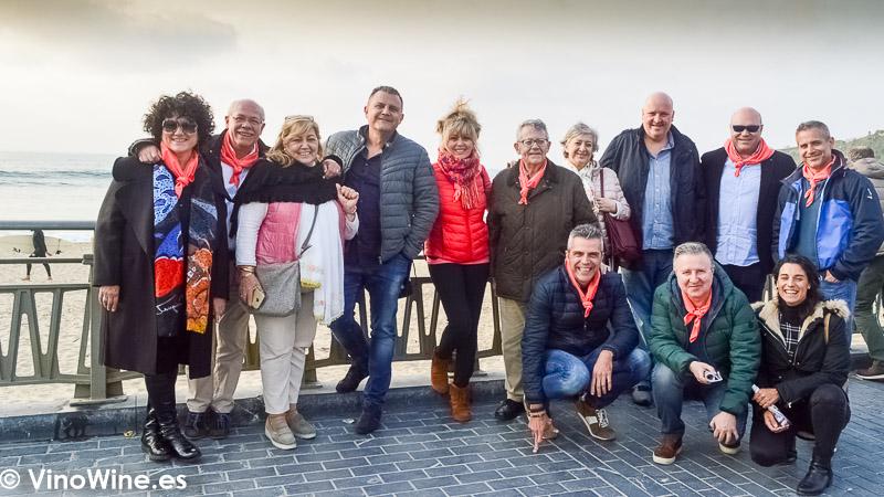 Peña Gastronómica los Restauranteros en Donosti