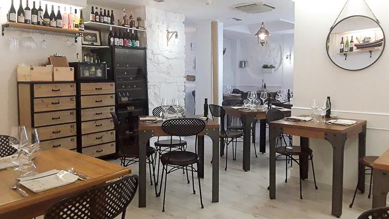 Sala de Restaurante Galerna en San Sebastián