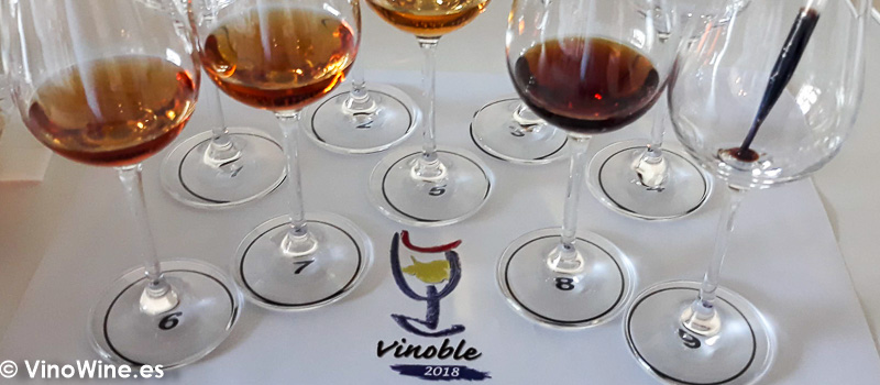 Cata de Relquias Liquidas de Gonzalez Byass celebrada en Vinoble