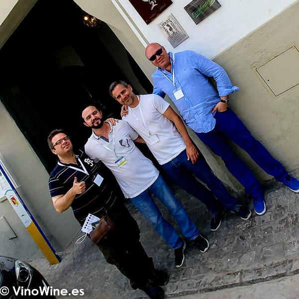 Entrada del Restaurante La Carbona de Jerez visita en el transcurso de Vinoble