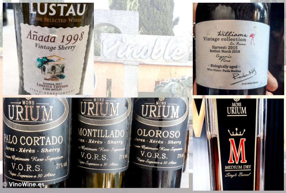 Los vinos que mas me gustaron en la tarde del domingo de Vinoble