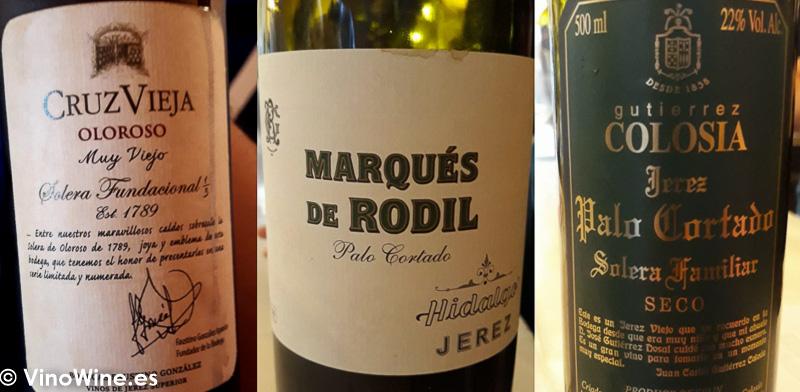 Los vinos que mas me gustaron entre los catados el martes tarde de Vinoble