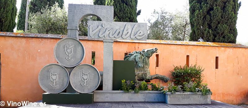 Motivo de Vinoble en el Alcazar de Jerez