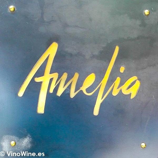 Logotipo del Restaurante Amelia de San Sebastian