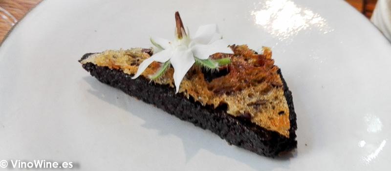 Morcilla del Restaurante Amelia de San Sebastian