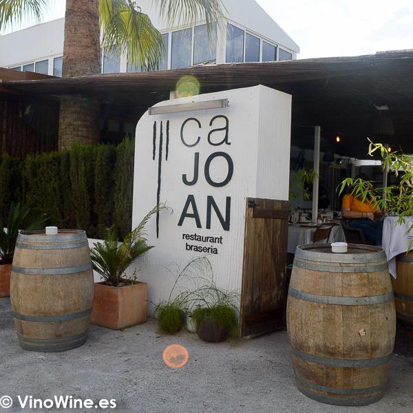 Acceso al Restaurante Ca Joan de Altea en Alicante