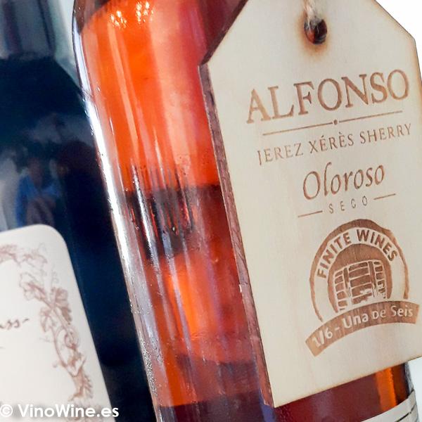 Cata de Reliquias Líquidas Alfonso 16 de González Byass Colección vinos finitos