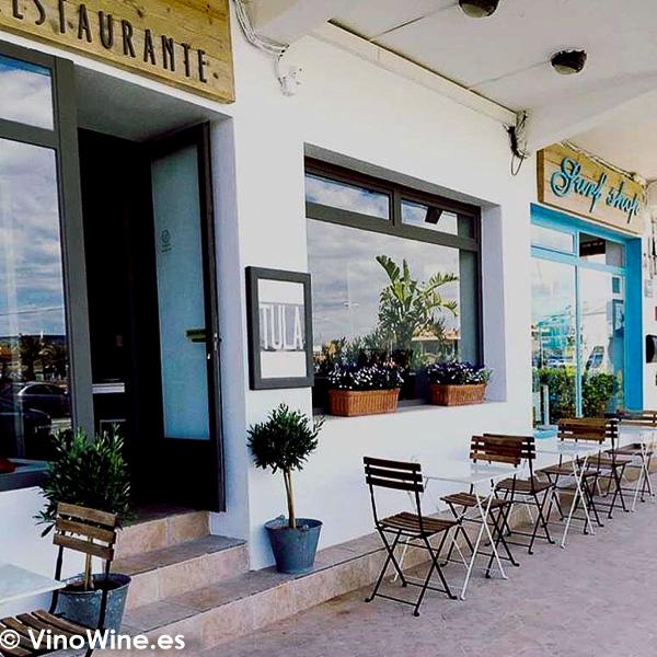 Terraza de Tula Restaurante de Javea en Alicante