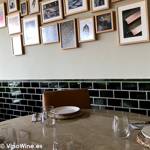 Vista parcial de la sala de Tula Restaurante de Javea en Alicante